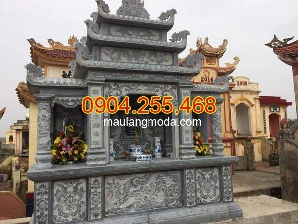 khu lăng mộ đá tại Phú Yên
