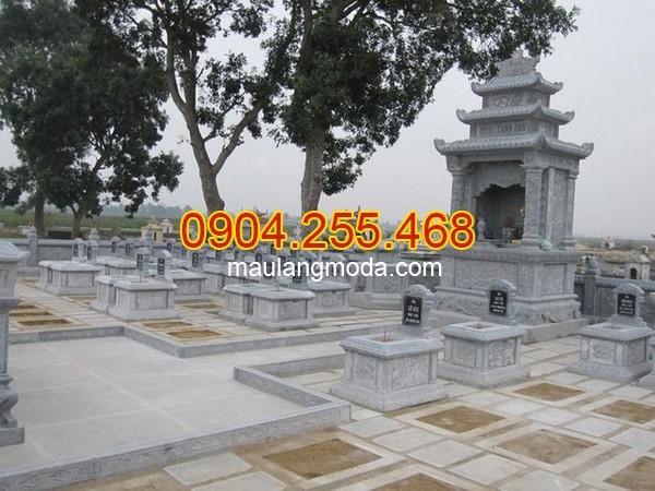 Khu mộ gia đẹp đình tại Quảng Ngãi