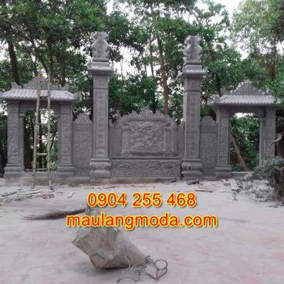 Mẫu cổng nhà thờ họ bằng đá tự nhiên CĐ1