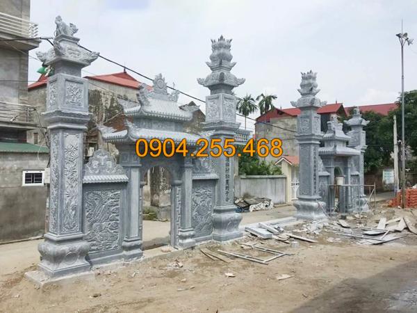 Các mẫu cổng nhà thờ họ đẹp tại Đá mỹ nghệ Hà An
