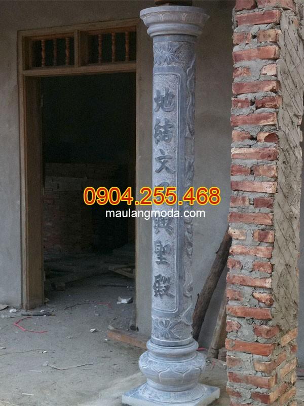 Giá cột đá nhà thờ họ mới nhất