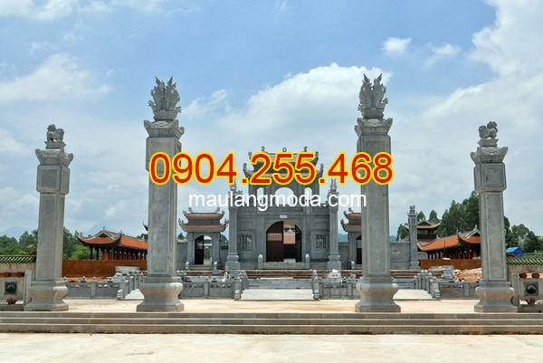 Những mẫu cổng đền được làm bằng đá xanh cao cấp nhất