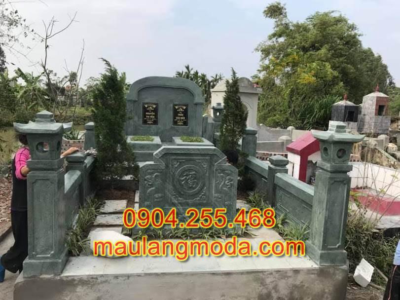 mộ đá xanh rêu thanh hóa cao cấp
