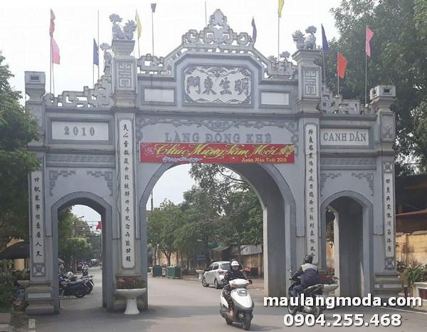 Mẫu cổng làng đẹp đang được sử dụng nhiều nhất hiện nay