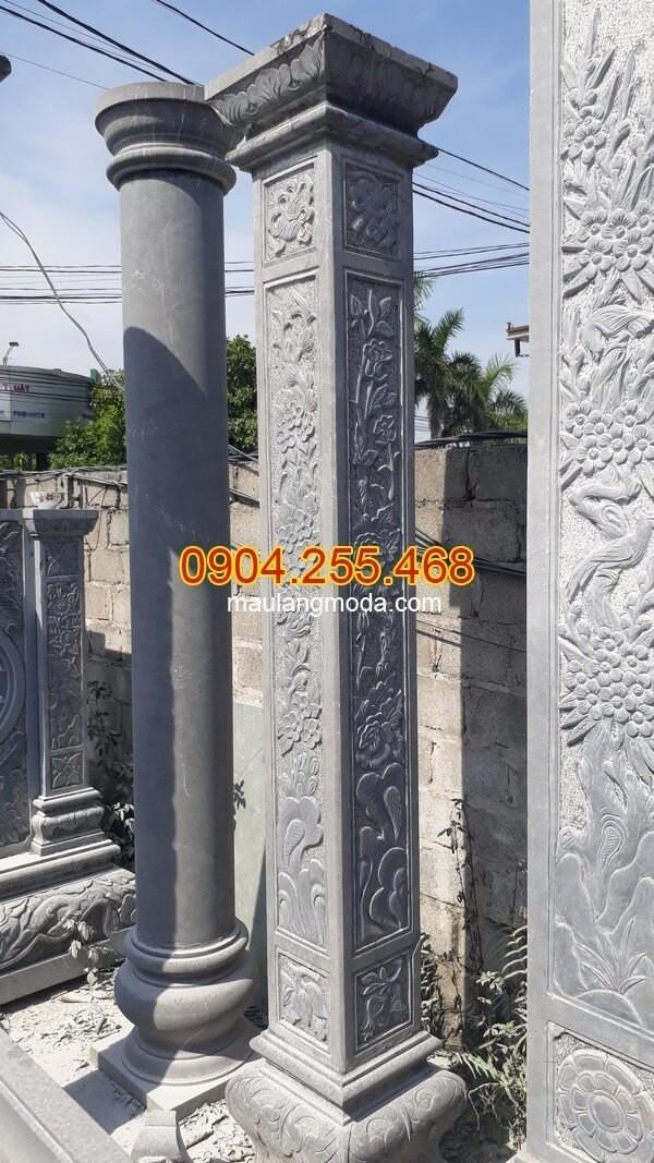Một số mẫu cột đá hàng rào đang được ưa chuộng