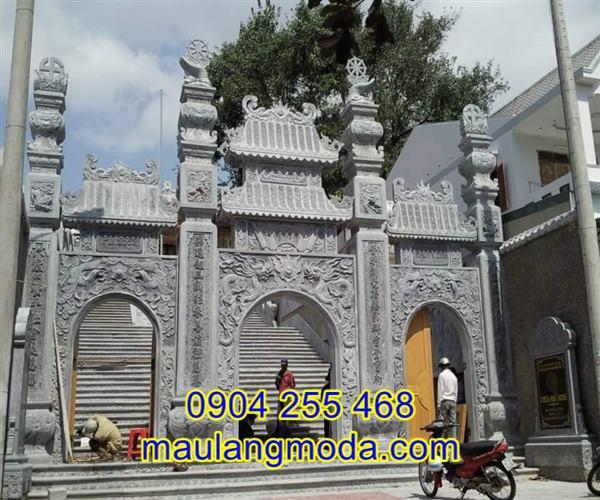Địa chỉ bán cổng đá đền chùa tại An Giang,cổng đá An Giang