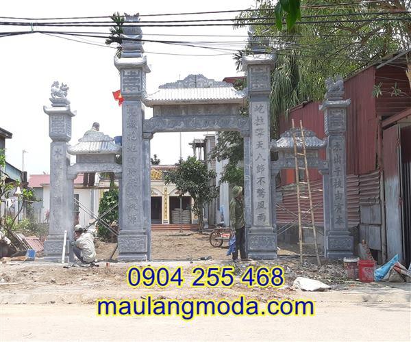 Bán cổng đá tại An Giang, cổng đá tam quan tại An Giang,địa chỉ bán xây cổng tam quan đá tại An Giang 02