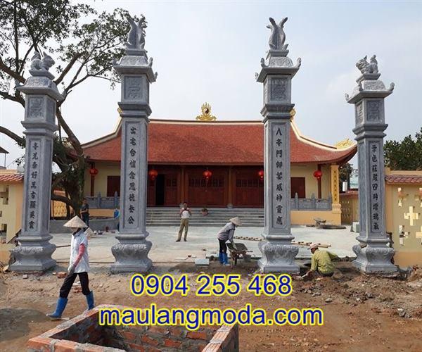 Cổng tam quan tứ trụ tại An Giang, cổng đá tứ trụ tại An Giang,Địa chỉ bán xây cổng tam quan đá tại An Giang 01