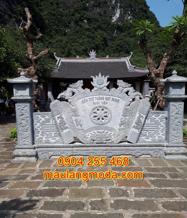 Cuốn thư đá đẹp giá rẻ nhất tại Ninh Bình CT1