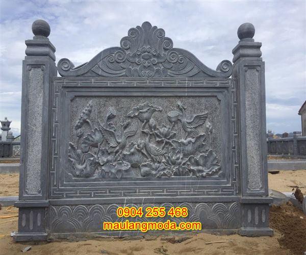 Cuốn thư đá khu lăng mộ đẹp giá hợp lý 02
