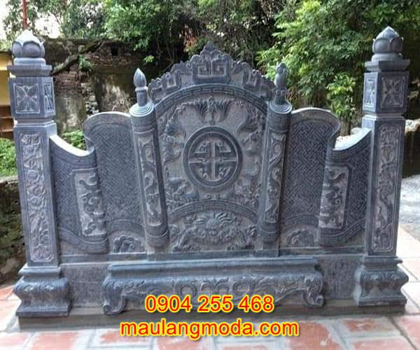 Cuốn thư đá khu lăng mộ đẹp giá hợp lý 05