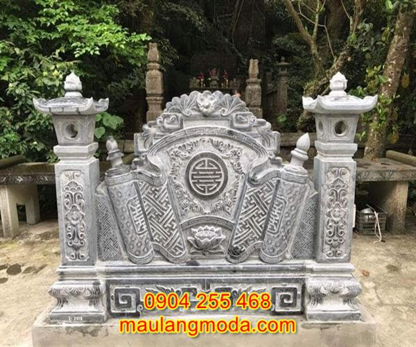 Mẫu Cuốn thư đá nghĩa trang đẹp giá rẻ 01