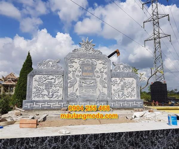 Mẫu Cuốn thư đá nghĩa trang đẹp giá rẻ 03
