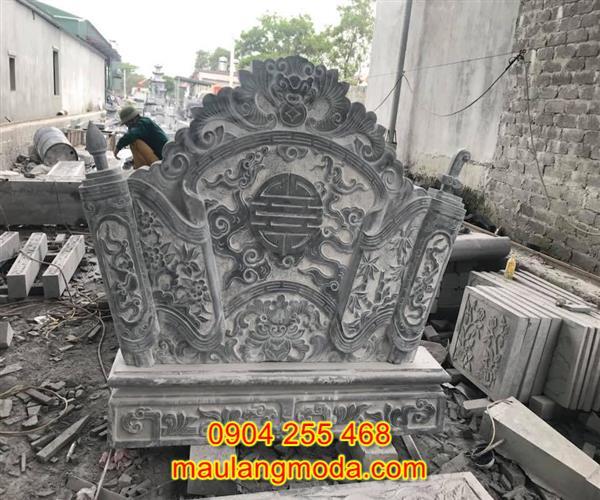 Mẫu Cuốn thư đá nghĩa trang đẹp giá rẻ 04
