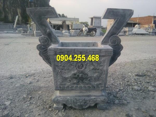 Bán lư hương đá vuông giá rẻ
