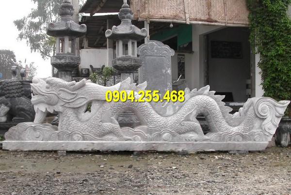 Đá mỹ nghệ Thái Vinh thiết kế, thi công bán rồng đá Non Nước đẹp giá rẻ