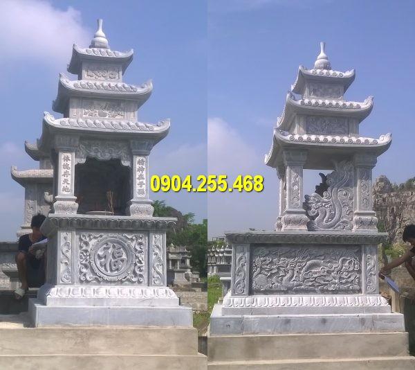 Giá mộ đá trong kiến trúc khu lăng mộ đá mỹ nghệ Ninh Vân Ninh Bình