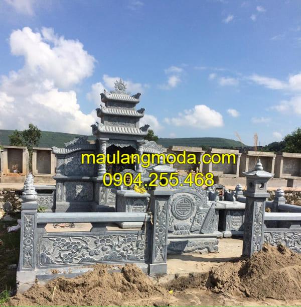 Báo giá lăng mộ đá Ninh Vân - Ninh Bình