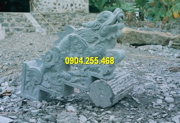 Mẫu rồng đá bậc thềm đẹp, kích thước chuẩn phong thuỷ
