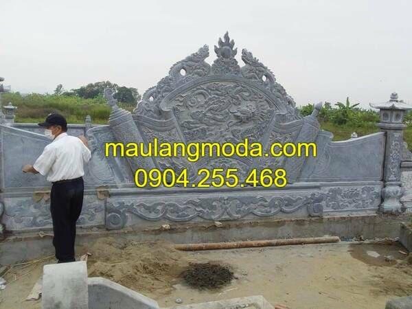 Một số mẫu cuốn thư đá đẹp nhất Ninh Vân