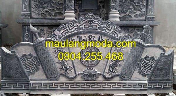 Một số mẫu bình phong đá đẹp nhất Ninh Vân