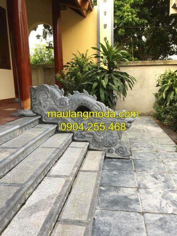 Mẫu bậc tam cấp đá nhà thờ họ đẹp nhất Ninh Vân