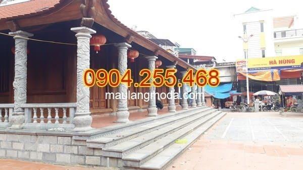 Các mẫu cột nhà thờ họ đẹp nhất Việt Nam