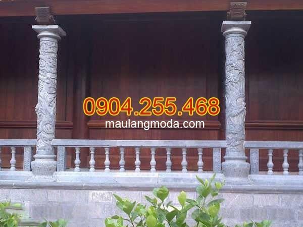 Các mẫu cột nhà thờ họ đẹp nhất Ninh Vân