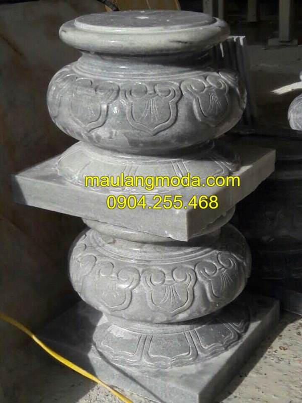 Chân cột đá tảng - Tảng đá kê chân cột đẹp nhất Việt Nam