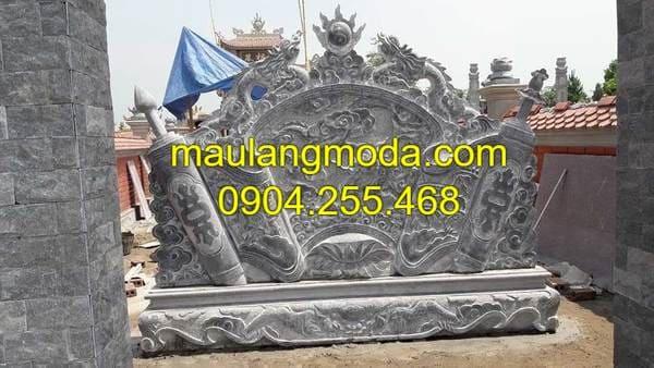 Mẫu cuốn thư khu lăng mộ đá đẹp nhất Ninh Bình