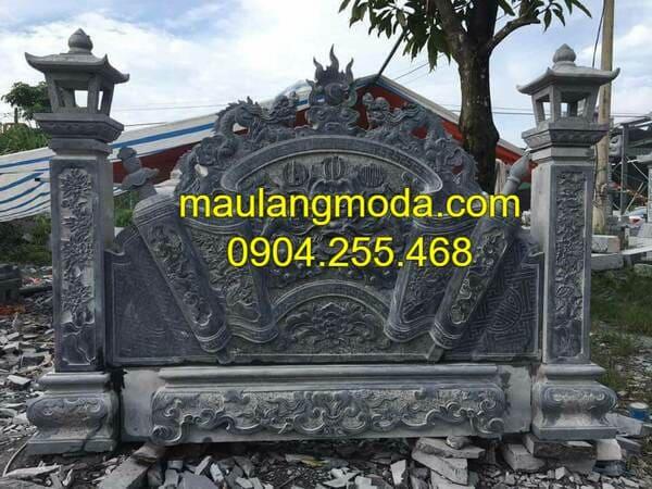 Bình phong đá giá rẻ tại Ninh Vân