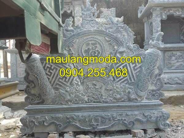 Mẫu bình phong đá đẹp tại Hà Nội