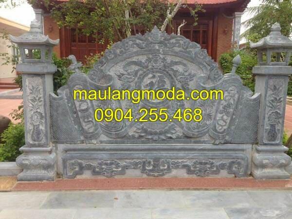 Hình ảnh mẫu bình phong đá đẹp tại Hà Nội