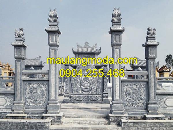 Hình ảnh lăng mộ đá đẹp nhất Ninh Vân