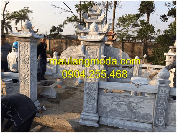 Hình ảnh lăng mộ đá đẹp nhất tại Ninh Vân