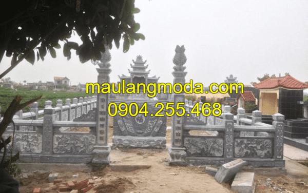 Khu lăng mộ đá đẹp tại Ninh Vân