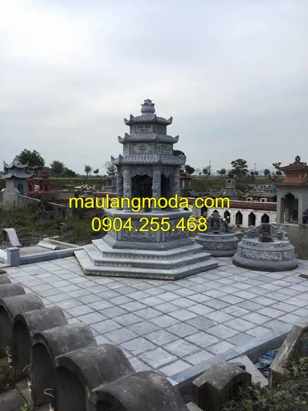 Một số hình ảnh mộ đá hình lục giác đá đẹp nhất Ninh Vân
