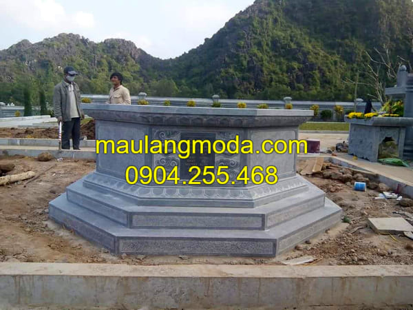 Hình ảnh mộ đá hình lục giác đá đẹp nhất Ninh Bình