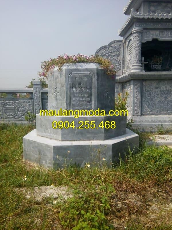 Mộ đá hình lục giác đá đẹp nhất Ninh Vân
