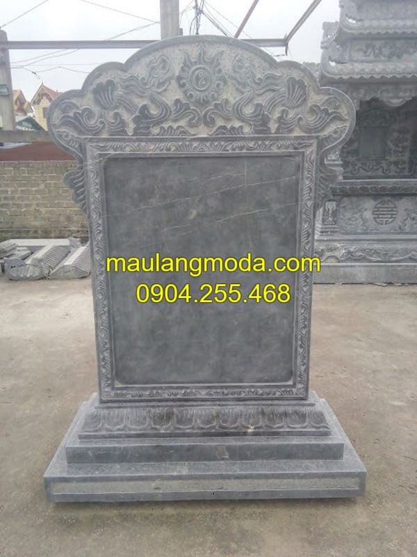 Kích thước bia mộ bằng đá chuẩn theo phong thủy