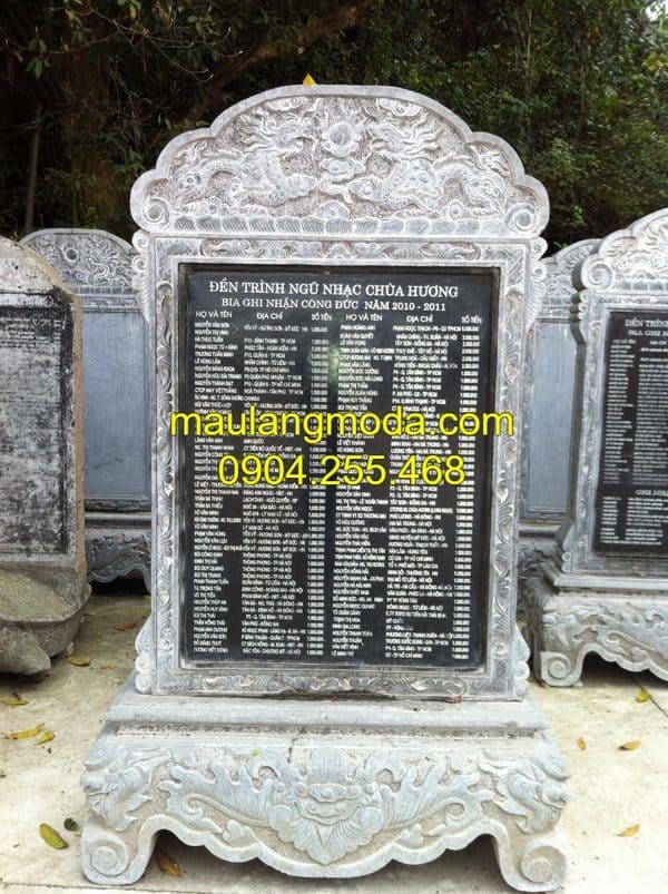 Mẫu bia mộ bằng đá đẹp nhất 2019