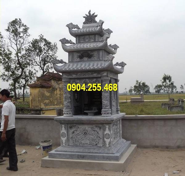 Lăng thờ đá ba mái mới nhất Ninh Vân Ninh Bình