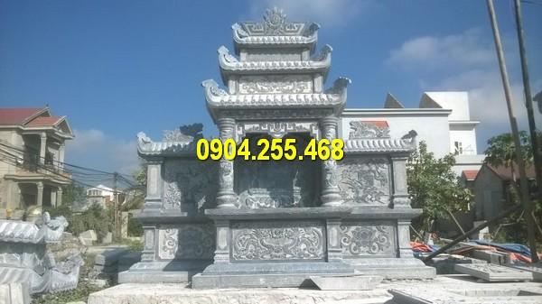 Lăng thờ đá mới nhất được chế tác tại làng đá Ninh Vân Ninh Bình
