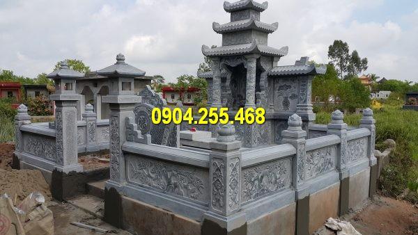 Thiết kế khu lăng mộ đá mới, kích thước lớn, chuẩn phong thuỷ đẹp nhất Việt Nam