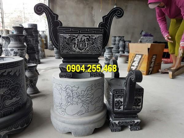 Thiết kế mẫu lư hương, bát hương bằng đá kích thước nhỏ
