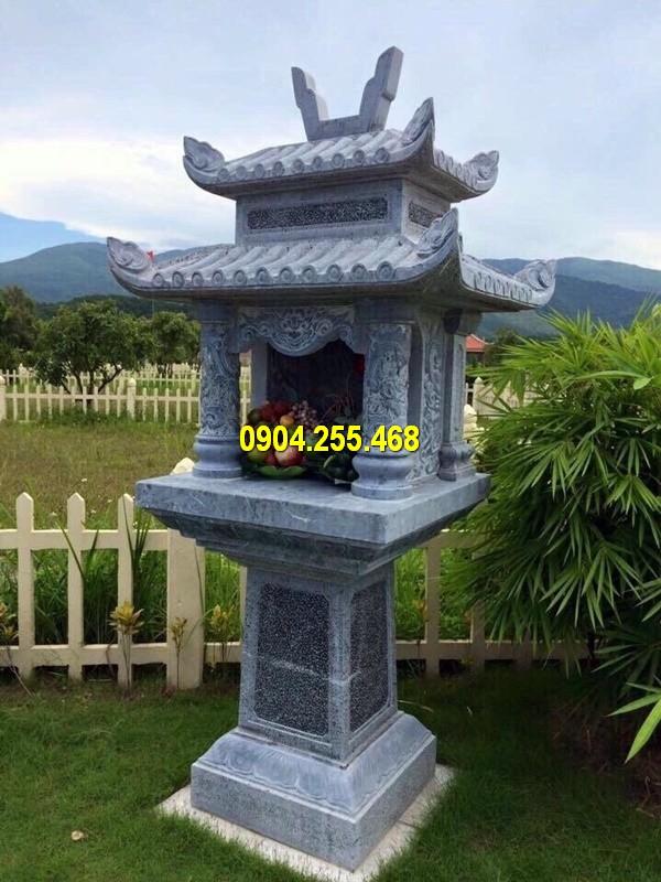 Đá mỹ nghệ Hà An thi công xây cây hương ngoài trời bằng đá đẹp nhất Việt Nam với giá thành rẻ