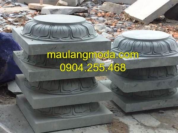 Những mẫu chân tảng đá kê cột nhà thờ đẹp nhất Việt Nam