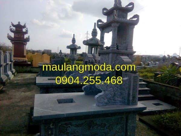 [TOP 10+] Mẫu mộ đá hai mái đẹp nhất tại Ninh Vân - Ninh Bình