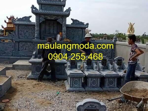 Những mẫu mộ xây đẹp nhất Ninh Vân