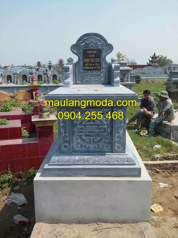 Những mẫu mộ xây đẹp nhất Ninh Bình